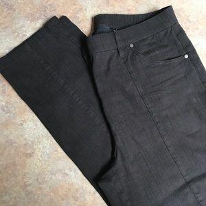 Tribal cropped pants